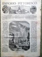 Emporio Pittoresco Del 30 Dicembre 1877 Natale Innocenza Regioni Artiche Bosforo - Voor 1900