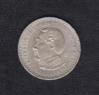 MÉXICO.  AÑO 1957.  5 PESOS PLATA CENTENARIO DE LA CONSTITUCIÓN. PESO 18,1 GR - México