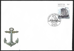 1997 - LIETUVA - FDC + Michel 639 [Kurenas] + VILNIUS - Lituanie