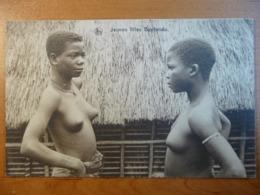 CPA - Congo - Jeunes Filles Bantandu Young Ladies - Thill. Nels, Bruxelles- Non Circulée/ Uncirculated - Seins Nus/ Nude - Congo Belge - Autres