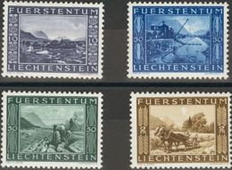 Liechtenstein. MNH **Yv 193/96. 1943. Serie Completa. MAGNIFICA. Yvert 2014: 14 Euros. - Liechtenstein