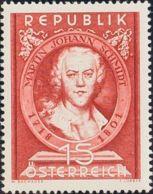 Austria. MNH **Yv 799. 1951. 1 S Castaño. MAGNIFICO. Yvert 2013: 10 Euros. - Austria