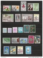 Jaar 1966 Compleet ** Postfris 44 Waarden (zonder Blokken) - Années Complètes