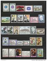 Jaar 1967 Compleet ** Postfris 39 Waarden (zonder Blokken) - Années Complètes