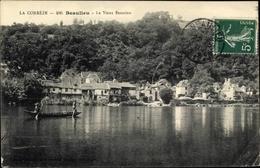 Cp Beaulieu Corrèze, Le Vieux Beaulieu, Barque - Other Municipalities