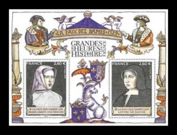 France 2019 Mih. 7496/97 (Bl.459) History Of France. Peace Of The Ladies MNH ** - Nuevos