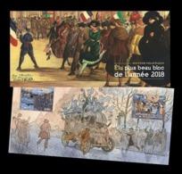 France 2019 Mih. 7219/20 (Bl.461) Best Stamp Of 2018. Beginning Of World War I MNH ** - Nuevos