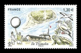 France 2019 Mih. 7498 Tromelin Island. Fauna. Birds. Turtle MNH ** - Nuevos