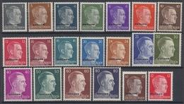 Ostland, MiNr. 1-20, Postfrisch / MNH - Occupation 1938-45