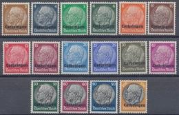 Lothringen, MiNr. 1-16, Postfrisch / MNH - Besetzungen 1938-45