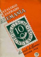 Alemania, Bibliografía. 1958. CATALOGO ILUSTRADO ALEMANIA. Ricardo Lama. Edición, 1958. - [1] ...-1849 Precursores