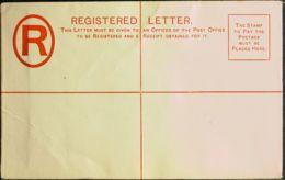 Gibraltar, Entero Postal. (*)Yv . 1889. 20 Cts Rojo Sobre Entero Postal De Certificados (152 Mm X 95 Mm). MAGNIFICO. - Gibilterra