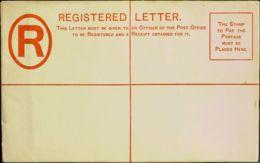 Gibraltar, Entero Postal. (*)Yv . 1889. 20 Cts Rojo Sobre Entero Postal De Certificados (132 Mm X 86 Mm). MAGNIFICO. - Gibilterra
