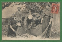 23 - Creuse - Aubusson - Laveuse De Laine - Beau Gros Plan De Nd N° 46 - Aubusson