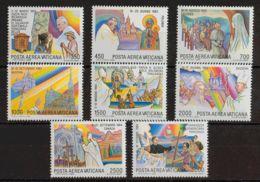 Vaticano, Aéreo. MNH **Yv 75/82. 1986. Serie Completa. MAGNIFICA. Yvert 2016: 30 Euros. - Vaticano (Ciudad Del)