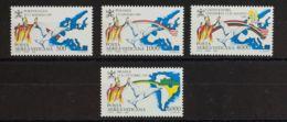 Vaticano, Aéreo. MNH **Yv 92/95. 1992. Serie Completa. MAGNIFICA. Yvert 2016: 22,5 Euros. - Vaticano (Ciudad Del)