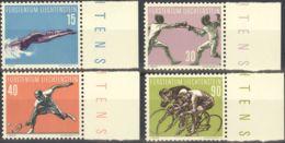 Liechtenstein. MNH **Yv 327/30. 1958. Serie Completa. MAGNIFICA. Yvert 2012: 25 Euros. - Liechtenstein