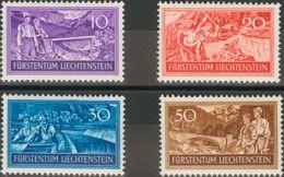 Liechtenstein. MNH **Yv 243/45. 1949. Serie Completa. MAGNIFICA. Yvert 2014: 30 Euros. - Liechtenstein