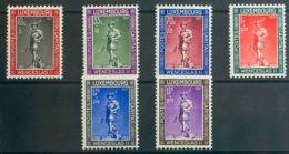 Luxemburgo. MNH **Yv 294/99. 1937. Serie Completa. MAGNIFICA. Yvert 2012: 25 Euros. - Sin Clasificación