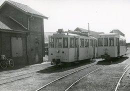 Frasnes-lez-Anvaing. SNCV-Hainaut Ligne Tournai - Ath. Tramway Vicinal. Cliché Jacques Bazin. 15-09-1953 - Trains