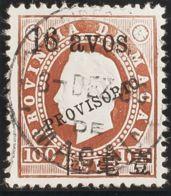 Macao. ºYv 66. 1894. 16 Avos Sobre 100 Reis Castaño. MAGNIFICO. - Sin Clasificación