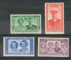 Bechuanaland. MH *Yv 82/85. 1947. Serie Completa. MAGNIFICA. (SG132/35 35£) - Bechuanaland (...-1966)