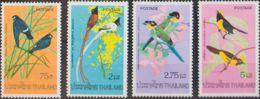 Tailandia. MNH **Yv 721/24. 1975. Serie Completa. MAGNIFICA. Yvert 2010: 17,5 Euros. - Tailandia