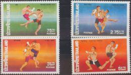 Tailandia. MNH **Yv 727/30. 1975. Serie Completa. MAGNIFICA. Yvert 2010: 20 Euros. - Tailandia