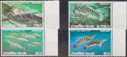 Tailandia. MNH **Yv 774/77. 1976. Serie Completa. MAGNIFICA. Yvert 2010: 20 Euros. - Tailandia
