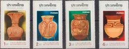 Tailandia. MNH **Yv 784/86. 1976. Serie Completa. MAGNIFICA. Yvert 2010: 16 Euros. - Tailandia
