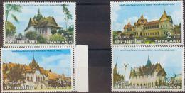 Tailandia. MNH **Yv 812/15. 1977. Serie Completa. MAGNIFICA. Yvert 2010: 16 Euros. - Tailandia