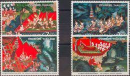 Tailandia. MNH **Yv 850/53. 1978. Serie Completa. MAGNIFICA. Yvert 2010: 16 Euros. - Tailandia