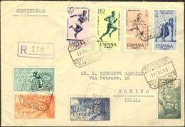 España. 2º Centenario Posterior A 1960 - 1961-70 Storia Postale