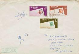 España. 2º Centenario Posterior A 1960. Al Dorso Llegada. MAGNIFICA. - 1931-Hoy: 2ª República - ... Juan Carlos I