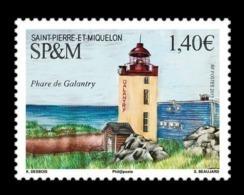 St. Pierre And Miquelon 2019 Mih. 1320 Galantry Lighthouse MNH ** - St.Pierre & Miquelon