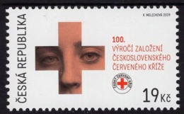 Czech Republic - 2019 - 100 Years Of The Czechoslovak Red Cross - Mint Stamp - Tchéquie