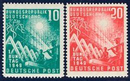 Alemania Occidental. MH *Yv 1/2. 1949. Serie Completa. MAGNIFICA. Yvert 2014: 55 Euros. - [1] ...-1849 Precursores