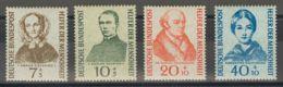 Alemania Occidental. MNH **Yv 98/01. 1955. Serie Completa. MAGNIFICA. Yvert 2014: 45 Euros. - [1] ...-1849 Precursores