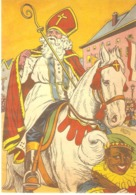 114) Saint-Nicolas - Sinterklaas - Zeer Goede Staat - L'état Très Bon ! - 10 X 15 Cm - San Nicolás