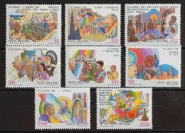 Vaticano. MNH **Yv 817/24. 1987. Serie Completa. MAGNIFICA. Yvert 2016: 35 Euros. - Vaticano (Ciudad Del)