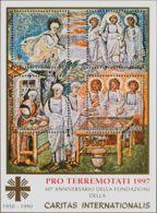 Vaticano, Hoja Bloque. MNH **Yv 17A. 1997. Hoja Bloque. MAGNIFICA. Yvert 2016: 40 Euros. - Vaticano (Ciudad Del)