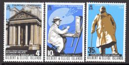 Gilbert & Ellice Islands 1974 Churchill Birth Centenary Set Of 3, MNH, SG 240/2 (BP2) - Îles Gilbert Et Ellice (...-1979)