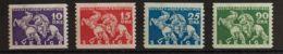 Suecia. MH *Yv 224/27. 1932. Serie Completa. MAGNIFICA. Yvert 2016: 50 Euros. - Schweden