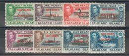 Falkland Orcadas Del Sur. MH *Yv 17/24. 1944. Serie Completa. MAGNIFICA. (SGC1/8 24£) Yvert 2014: 25 Euros. - Islas Malvinas