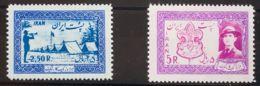 Irán. MH *Yv 865/66. 1956. Serie Completa. MAGNIFICA. Yvert 2013: 40 Euros. - Irán
