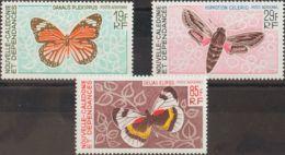 Nueva Caledonia, Aéreo. MNH **Yv 92/94. 1967. Serie Completa. MAGNIFICA. Yvert 2014: 47 Euros. - Nueva Caledonia