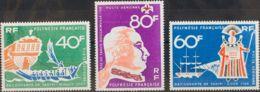 Polinesia, Aéreo. MNH **Yv 22/24. 1968. Serie Completa. MAGNIFICA. Yvert 2014: 37,2 Euros. - Polynésie Française