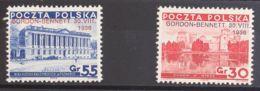 Polonia. MH *Yv 390A/B. 1936. Serie Completa. MAGNIFICA. Yvert 2012: 40 Euros. - Sin Clasificación