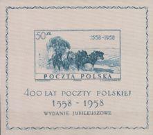 Polonia, Hoja Bloque. MNH **Yv 22. 1958. Hoja Bloque. MAGNIFICA. Yvert 2012: 35 Euros. - Sin Clasificación