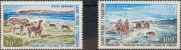 San Pedro Y Miquelón, Aéreo. MNH **Yv 44/45. 1969. Serie Completa. MAGNIFICA. Yvert 2014: 46,5 Euros. - St.Pedro Y Miquelon